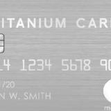 特許取得済の金属製カード「ラグジュアリーカードMastercard Titanium Card」